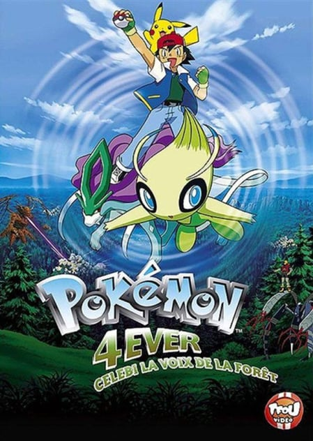 Pokemon 4ever Celebi Voice Of The Forest